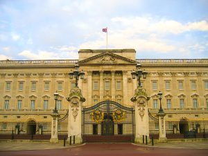 Buckingham Palace in London, UK