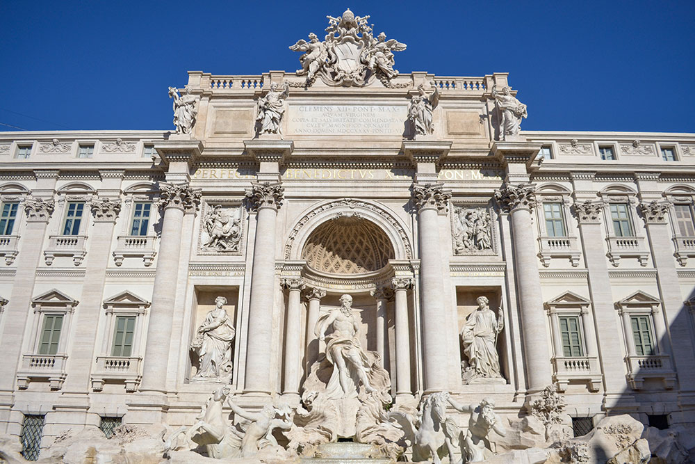 What to do in Rome: Trevi Fountain