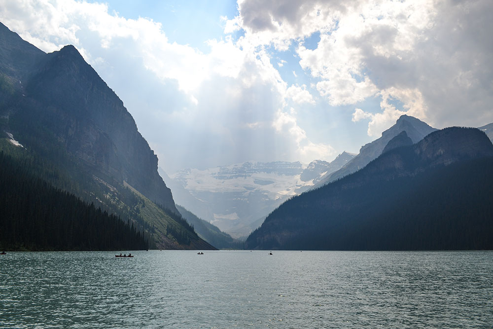 A view of Lake Louise, Canada